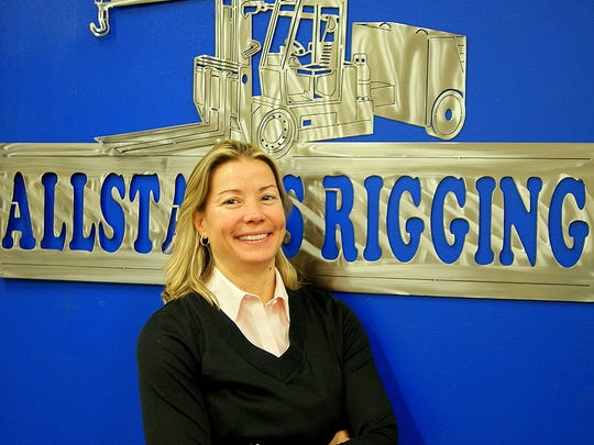 Robin Cales has been named director of operations of Allstates Rigging in Two Rivers.