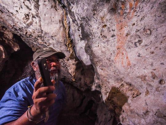 """Ignacio """"Nash"""" Camacho, a nature and cultural volunteer"""