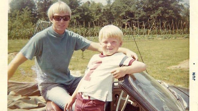 Felix and Bill Vail, circa 1967