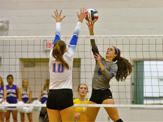 Wylie senior Gracie McCaslin goes for a shot against