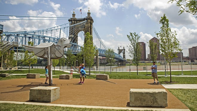 The Cincinnati parks board, which oversees  Smale Riverfront Park and other venues, is negotiating with the candidate it hopes will lead the system into the future.