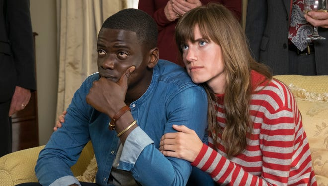 Chris (Daniel Kaluuya) spends a strange weekend at the family home of his girlfriend Rose (Allison Williams) in 'Get Out.'