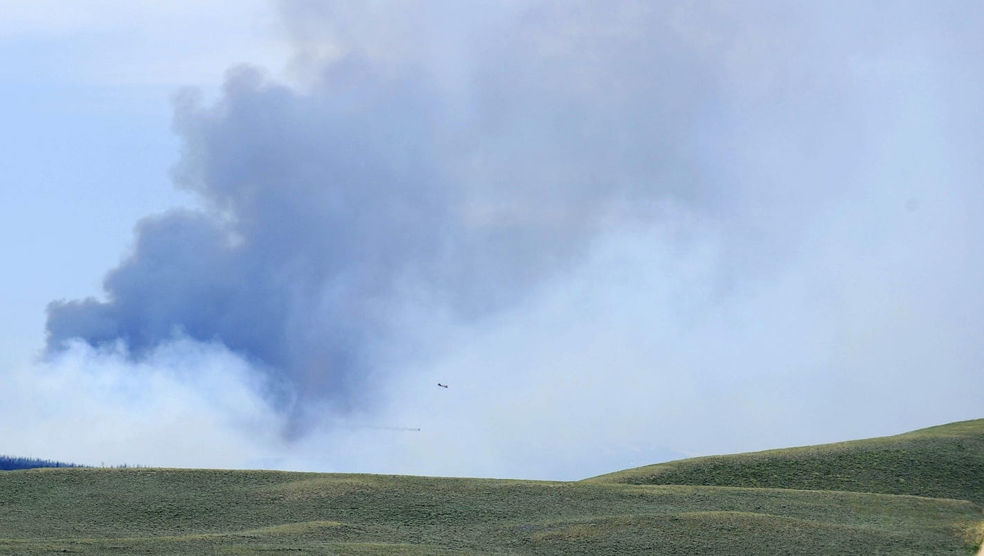 Cool Cloudy Weather Aids Beaver Creek Fire Efforts