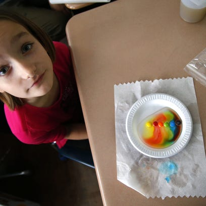 Highlands students use M&M's to pursue careers in science