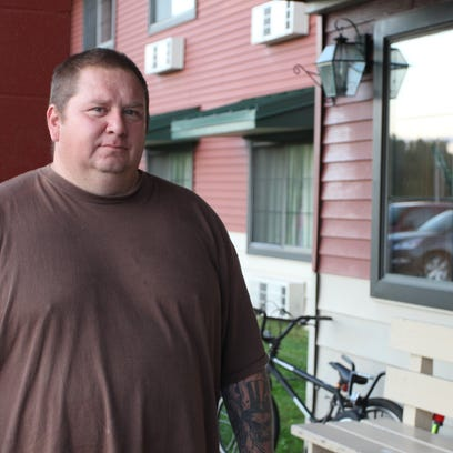 Jody Bressett lost his home on the Bad River Reservation to severe flooding in July 2016. Bressett, a father of six, is a member of the community's fire department alongside his wife and oldest son.