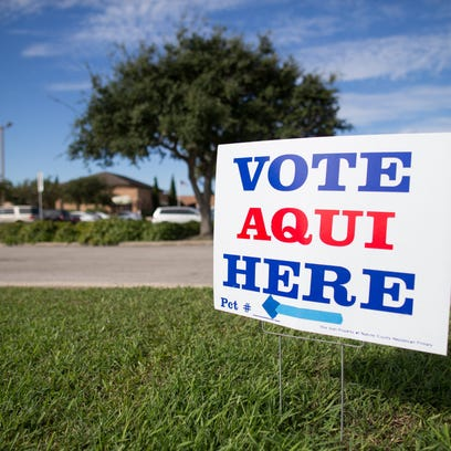 Texas' primary election early voting numbers for first day show Democrats energized