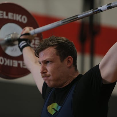 Weightlifters compete, remember Salinas' Mario Martinez