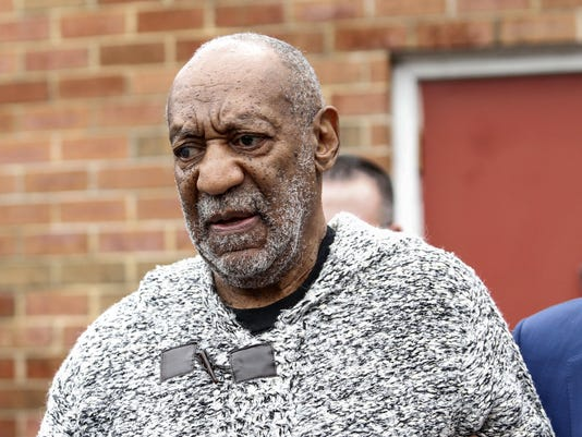 Cosby arraigned