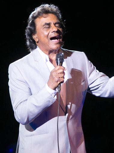 Johnny Mathis performs at the Celebrity Theatre, Sunday, August 2, 2015, in Phoenix.