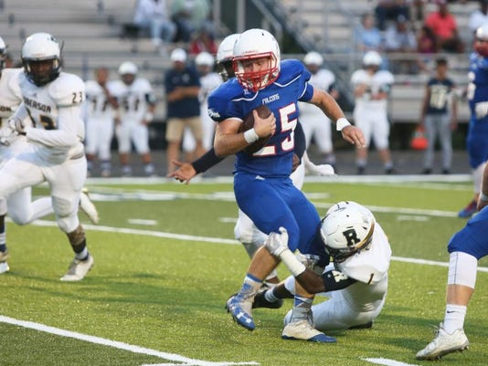 2017 Roberson at West Henderson Football