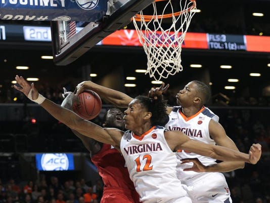 NCAA Basketball: ACC Conference Tournament-Virginia vs Louisville