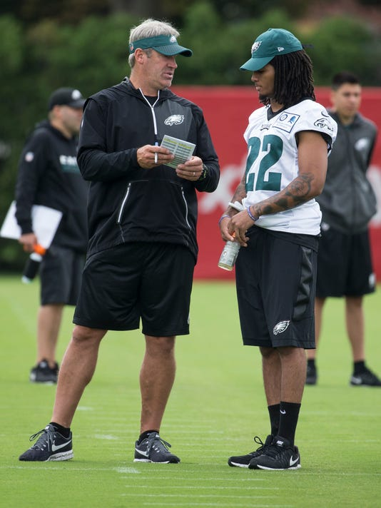 Sports: Eagles Camp