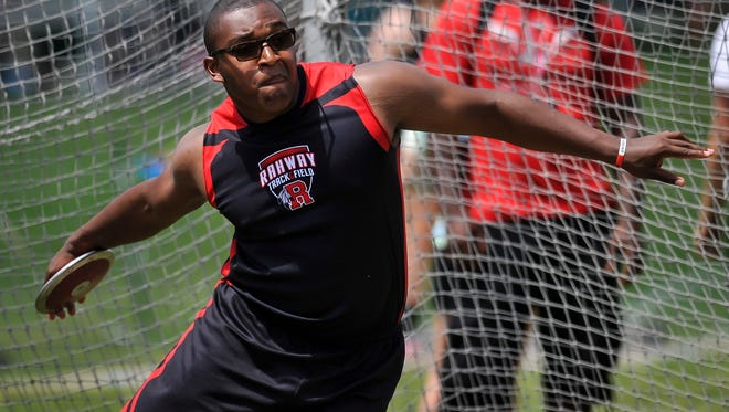 Rahway's Jordan West is a two-time Group II champion in the discus.