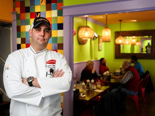 Chef Fernando Martinez has seen his Taco Luchador restaurant