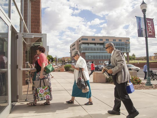 """Jehovah's Witnesses, see heading into a convention in St. George, are included among """"Sunday stalwarts,"""" the Pew study says."""