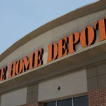 Exterior of a Home Depot store in Georgia. The company plans to hire 80,000 nationally for busy spring season.