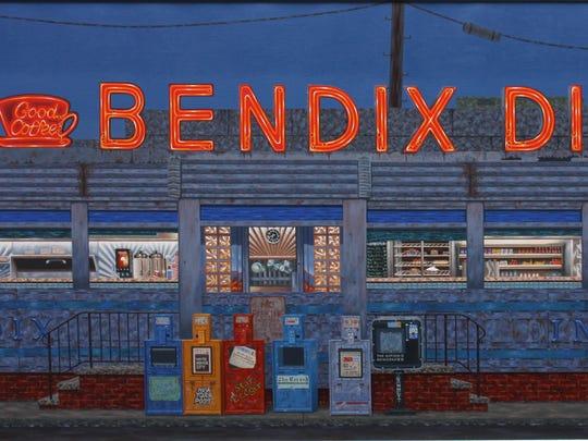 "Mark Oberndorff's ""Bendix Diner."""