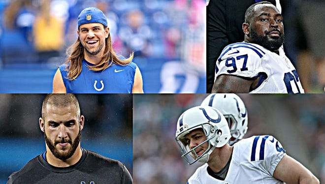 The Colts have a slew of important decisions to make on who comes back next season. Among them: Coby Fleener, Art Jones and Bjoern Werner.