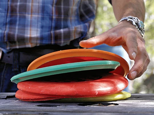Disc golf is an option of a safe outdoor recreation activity that people can do during the coronavirus pandemic.