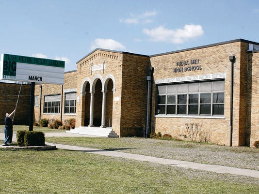 Tulsa Public Schools consolidated its Tulsa MET Middle and Tulsa MET High schools into a former elementary school campus under Project Schoolhouse.