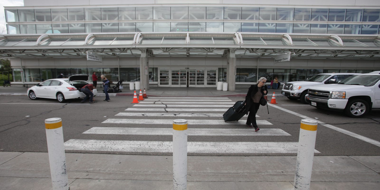 You've bought a ticket to Coachella or Stagecoach. Which airport do you use to get there?