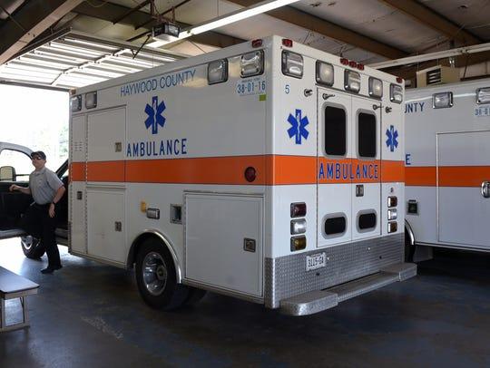 The ambulance fleet in Haywood County, Tenn., has evolved