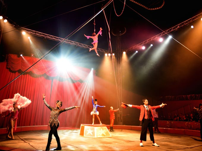 Circus Hollywood at the State Fair of Louisiana on