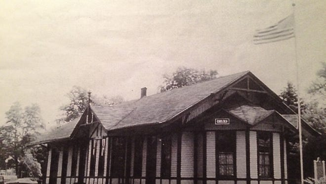 The new Despatch Junction store in East Rochester will be modeled after this 19th century rail depot in Chelsea, Michigan.