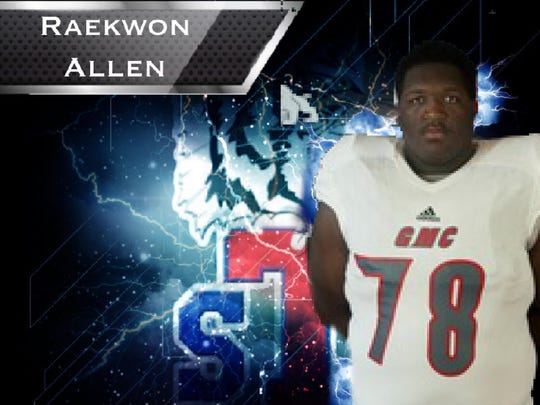 Raekwon Allen will be expected to contribute immediately after playing last year at Georgia Military.