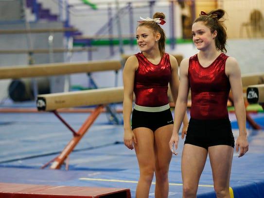 McCutcheon's Emma Taylor and Megan Walker