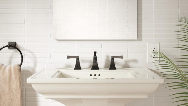 A widespread faucet may be more expensive than a centerset.