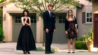 "Maeve Press, Josh Thomas, and Kayla Cromer star in ""Everything's Gonna Be Okay."""