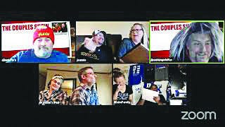 Brad Lingafelter and Chad Pore host a couples show comedy, testing Kiowa County couples on their knowledge of each other, to share some community fun during the countrywide stay-at-home mandated time.