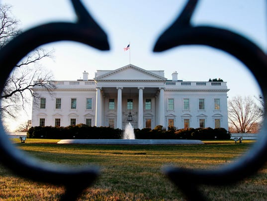 AP WHITE HOUSE PROTESTS A USA DC