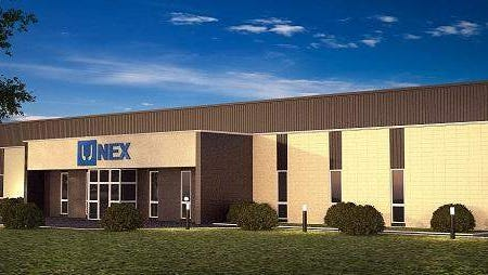 An illustration of the future home of UNEX Manufacturing