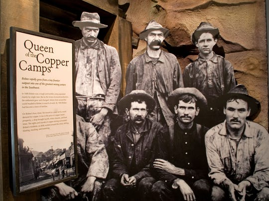 Visitors to the Bisbee Mining & Historical Museum can
