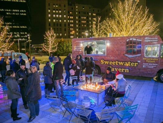 Food Trucks Downtown Detroit