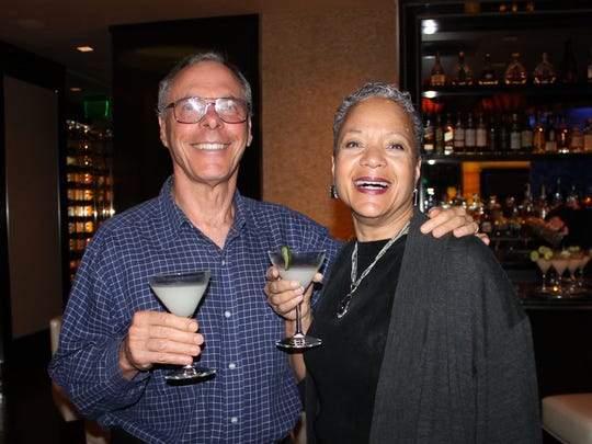 John and Toni Sandler attend the Accent on Asia dinner hosted by RGJ Media food and drink editor Johnathan L. Wright at the Atlantis Steakhouse.