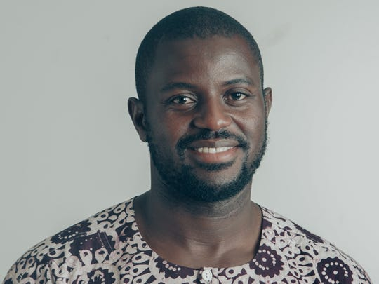 Godfried Asante, assistant professor of rhetoric, Drake