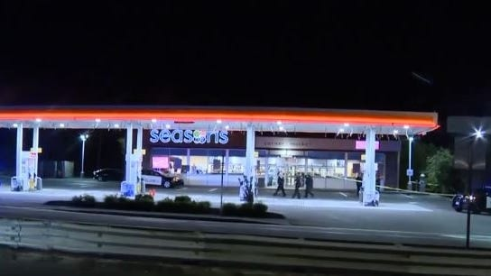 A man was shot outside Seasons Corner Market convenience store and Shell gas station at 1370 North Main St. in Randolph on June 16, 2020.