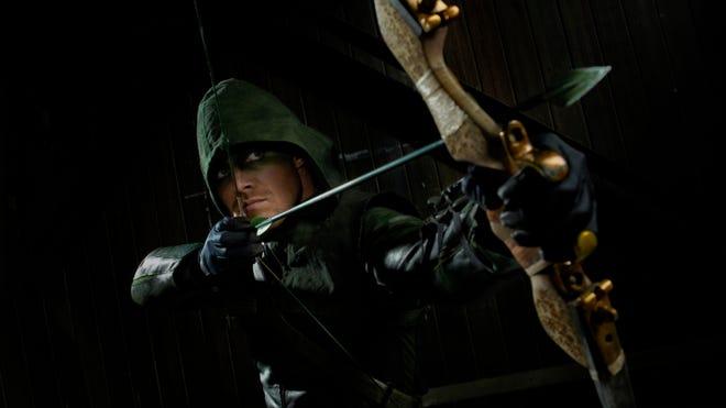 "Stephen Amell stars as Arrow in the weekly DC Comics digital-first series ""Arrow: Season 2.5."""