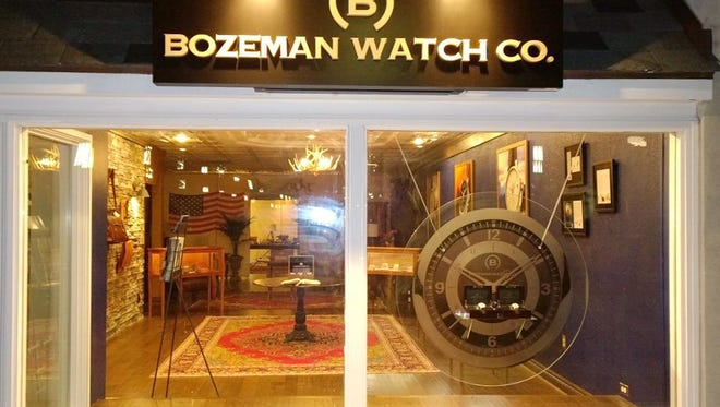 The Bozeman Watch Co. store in downtown Birmingham has closed down.