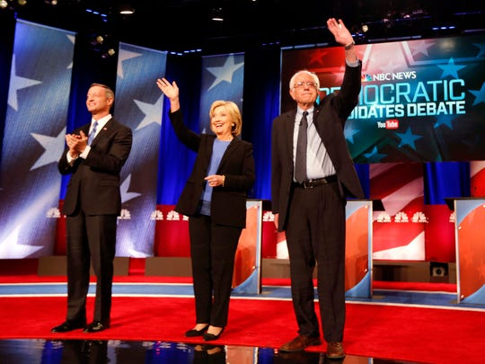 Democratic presidential candidates former Maryland