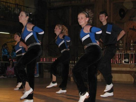 Blue Ridge Mountain Cloggers dance at 11 a.m. at the