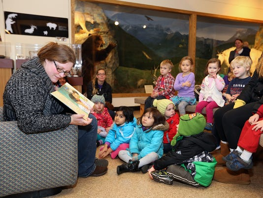 UWSP Story Time at the Museum