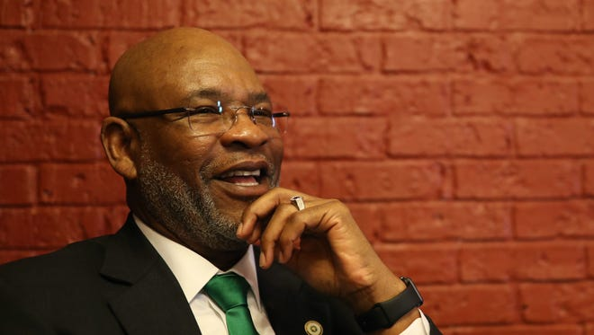 FAMU athletics director Dr. John Eason hopes to raise funds for the department through Investing in Champions, Tag Bragg and guarantee games