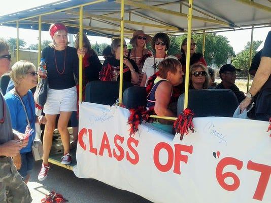 Hakes 50th high school reunion