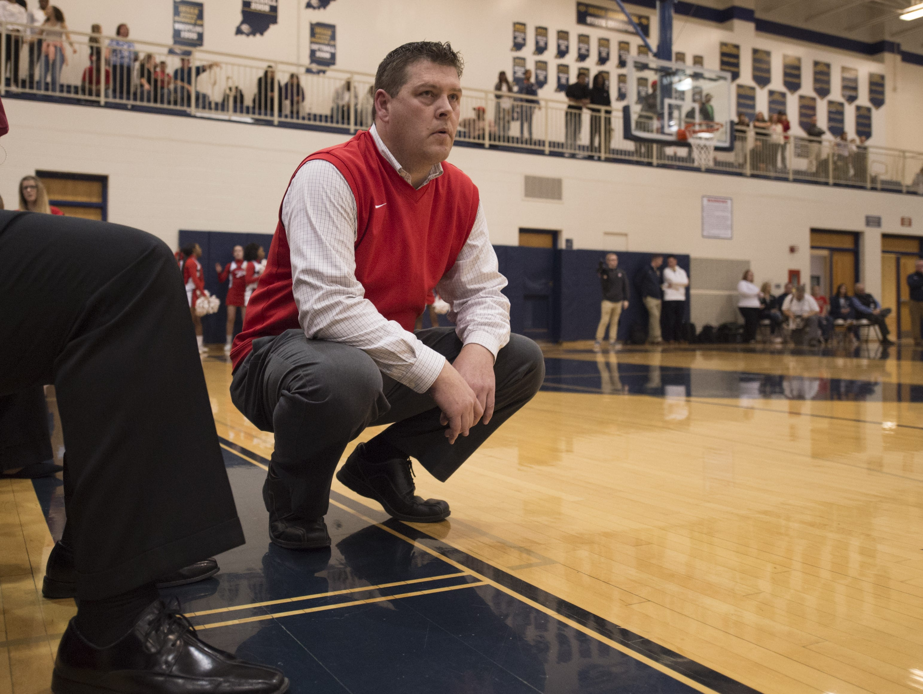 After sitting out last year, Pike coach Bob Anglea returned to the bench this season and has the Red Devils one win from a state title.