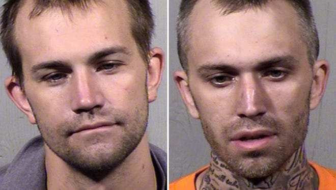 Police say Christopher Robert Bendotti, 30, and Joseph Charles Bendotti, 27, lured a man that at least one of them has known since junior high for a night out Thursday in Scottsdale with the intent of robbing him of his Las Vegas winnings.