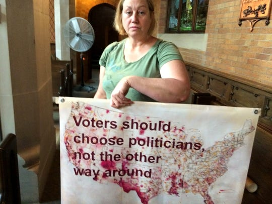 Beverly Speer of Madison, a member of Wisconsin Democracy